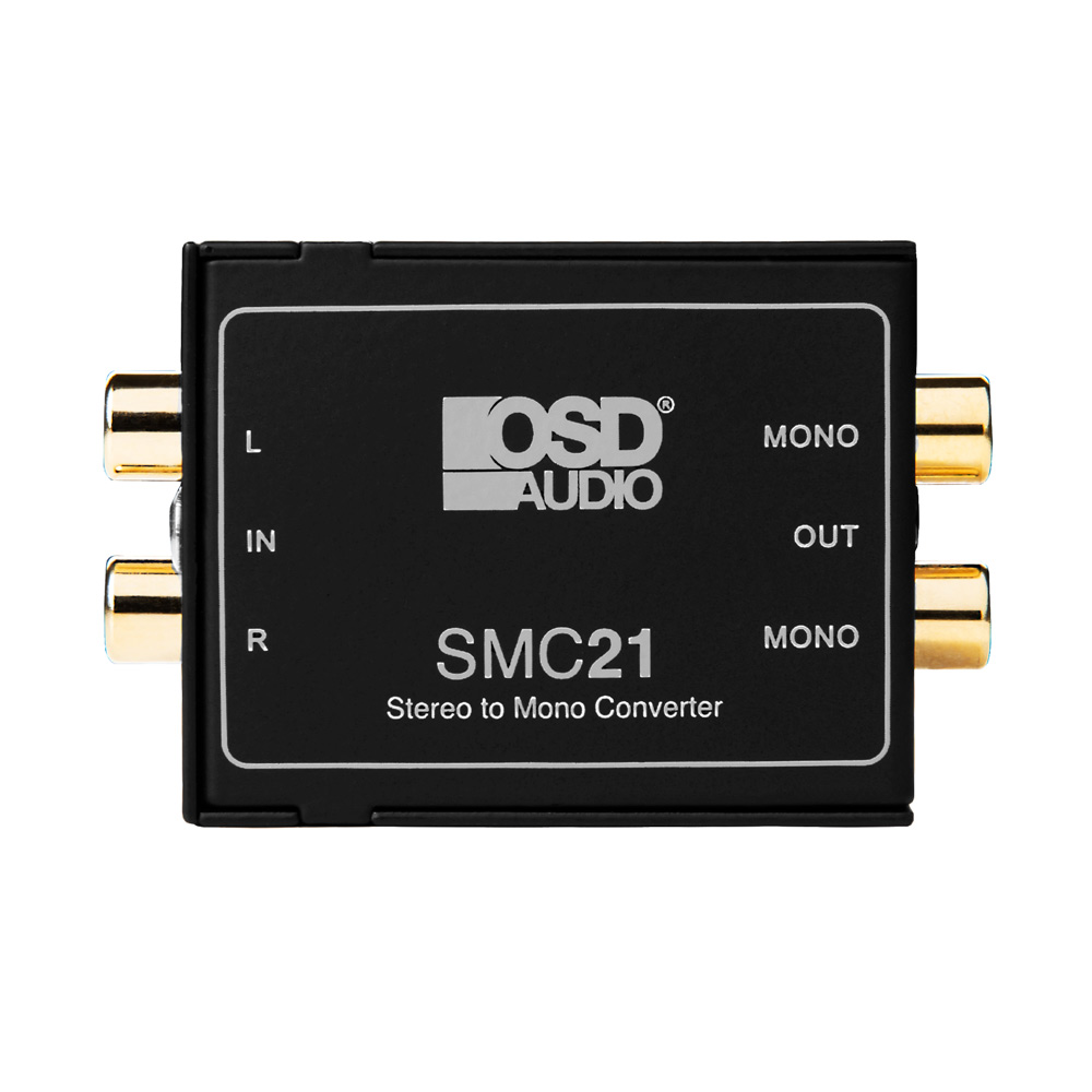 OSD Audio SMC21 Stereo Signal to Mono Converter and Ground Loop Isolator