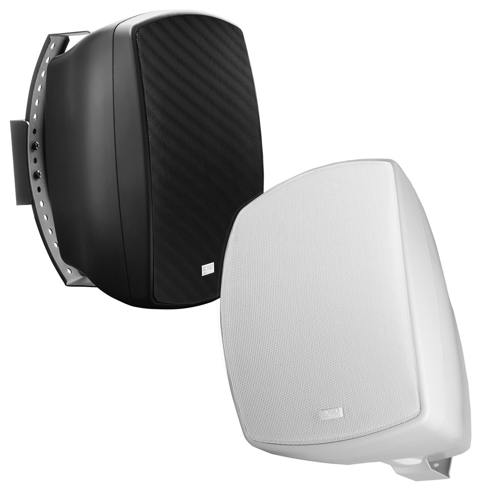 "6.5"" High Performance Outdoor Patio 2-Way Speaker Pair w/ Optional 70V, White or Black -  AP650"