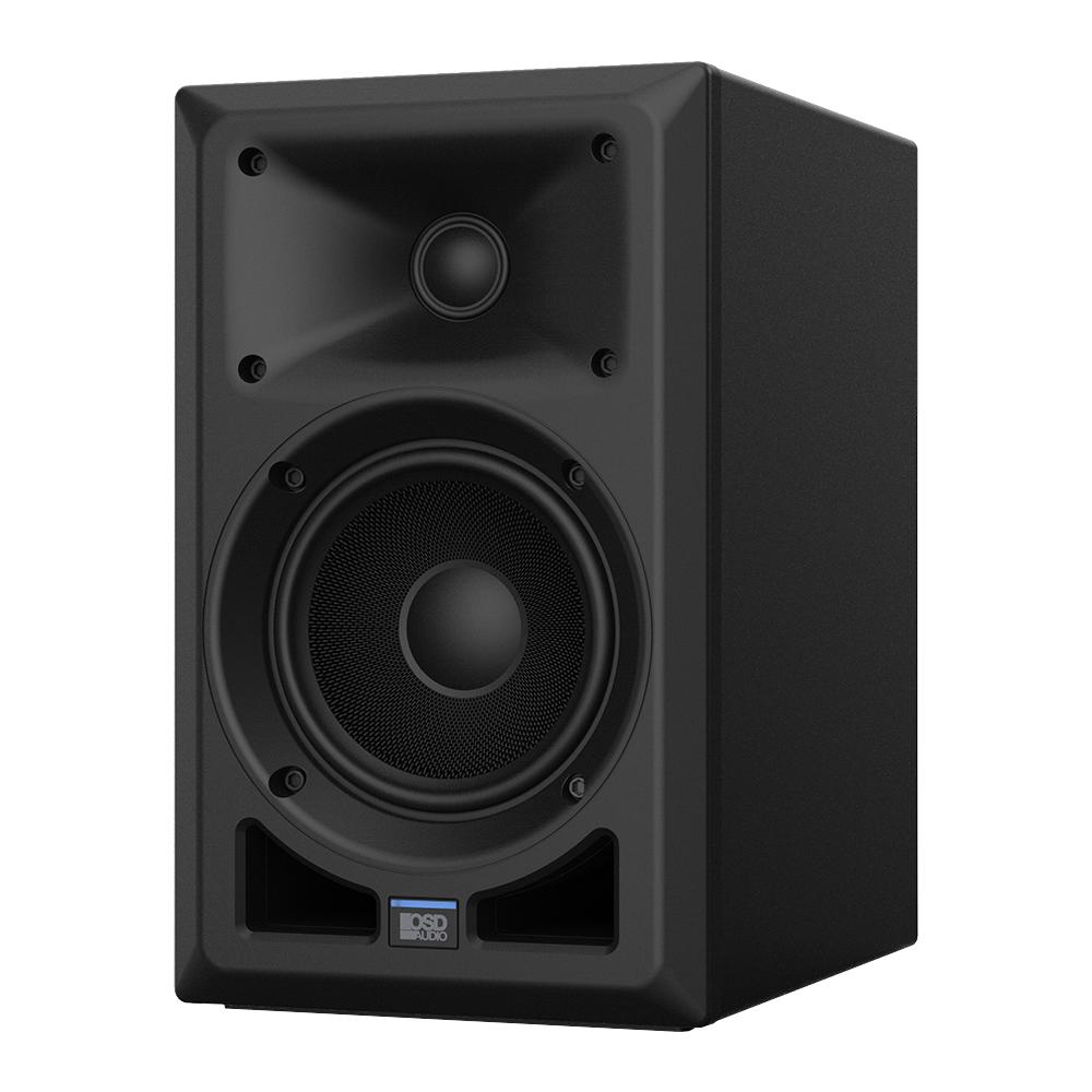 "OSD Nero AB5 100W High-end Powered Bookshelf Speaker with 5.25"" Fiberglass Composite Woofer & DSP"