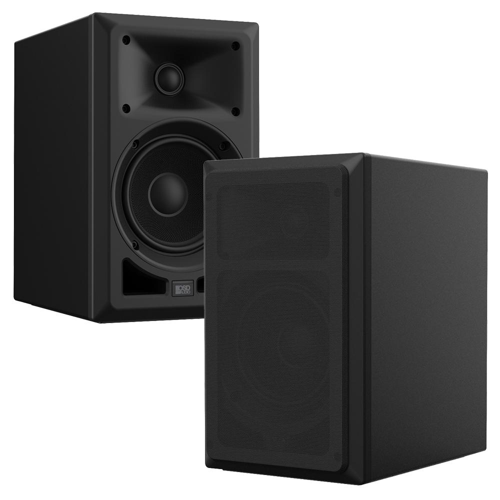 """OSD Nero MB5 100W Speaker Pair w/ 5.25"""" Fiberglass Woofer, 1"""" Ferrofluid-cool Soft Dome Tweeter"""