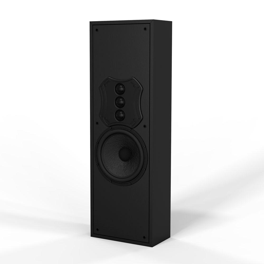 "S81 MK2 8"" Triple Tweeter On-wall Speaker Custom Crossovers & 8"" Fiber Inter-weave Woofer"