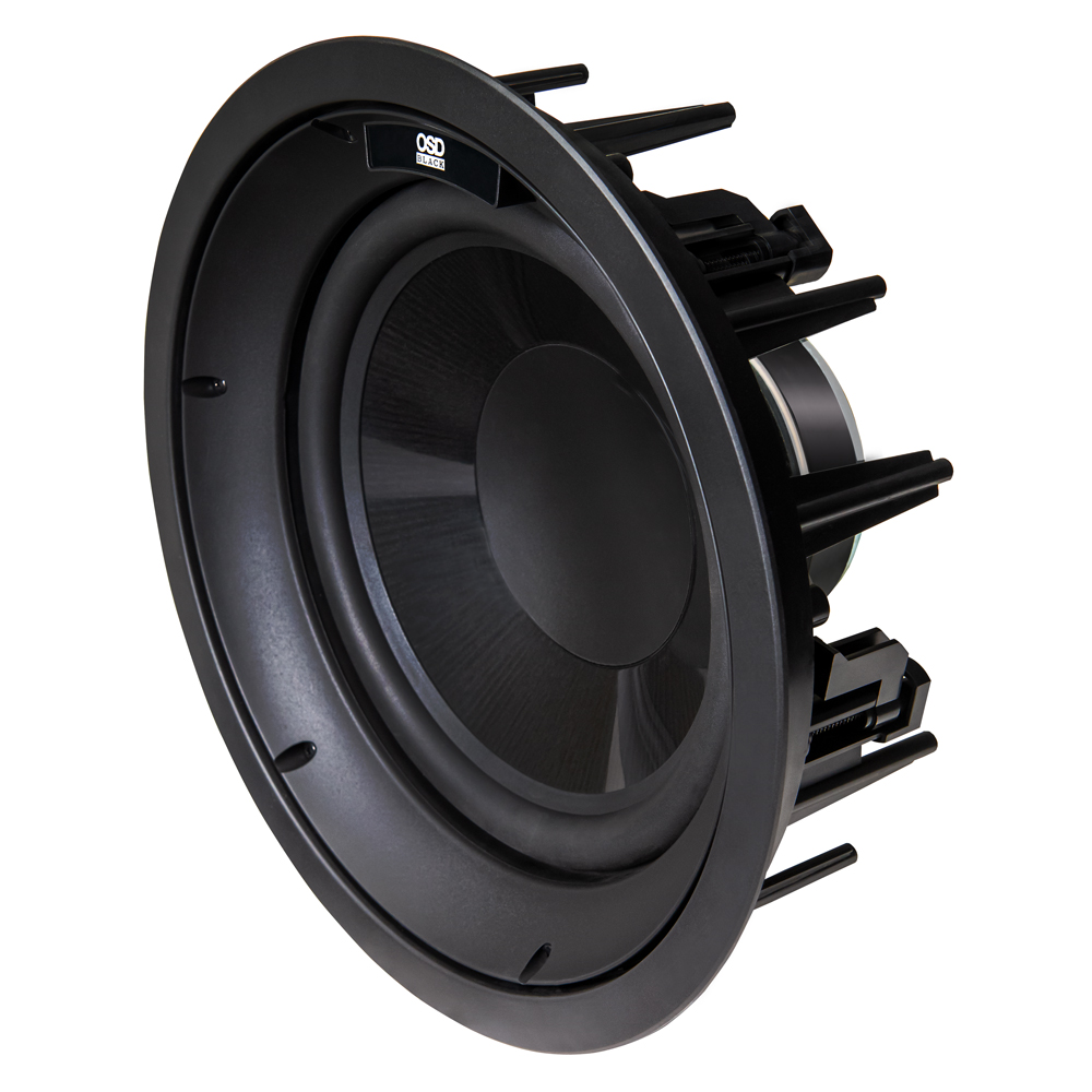 """R10 In Ceiling 10"""" Subwoofer w/ Long Excursion Graphite Woofer, 200W w/ In Ceiling Bracket"""