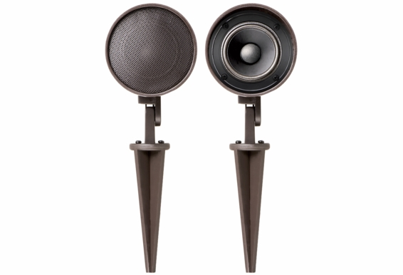 In-Ground Landscape or Mounted Weather-Resistant Outdoor Dome Shaped Speaker Pair - LS2