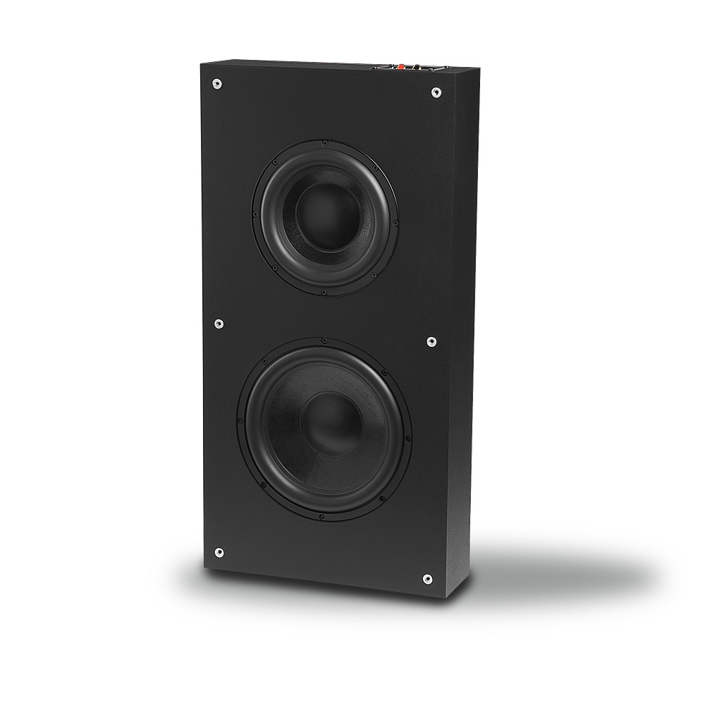 OSD SL800 Dual 8-in/10-in Low Profile/In Wall/On Wall/Stand Subwoofer w/ Back Box
